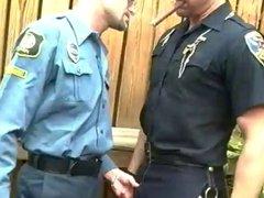 Cops sucking vidz dicks in  super public