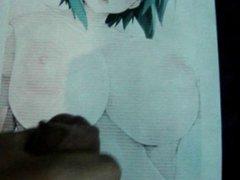Anime Girl vidz Bukkake 13