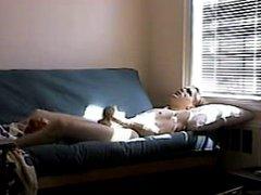 Masturbating on vidz webcam