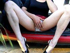 Crossdresser wanking vidz in heels