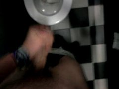 public toilet vidz wank at  super university campus