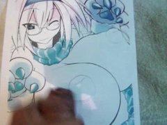 Anime Girl vidz Bukkake 14