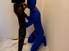 blowjob in vidz spandex lycra  super zentai