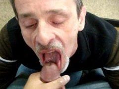 Jackoff Into vidz His Mouth