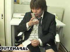 Japanese businessman vidz Hiroki Nishi  super jerk off to mobile phone
