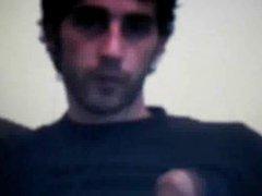 Azeri Hairy vidz straight guy  super jerking on cam