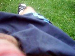 Outdoor Masturbation vidz my first  super time
