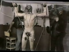 Vintage Homosexual vidz Bondage And  super CBT