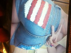 big ass vidz tribute on  super big booty shorts