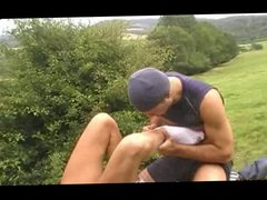 French Amateur vidz Fuck Session  super In The Outdoors FlipFuck