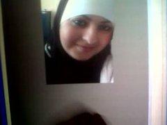 Cumshot Tribute vidz to Moroccan-Egyptian  super slut Nehmser