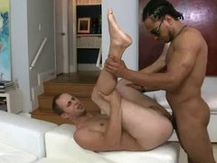 Gay gets vidz pounded by  super a monster cock