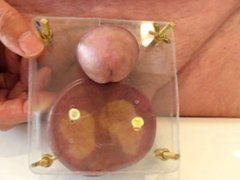 Balls squeeze vidz and sperm  super juice tapping!