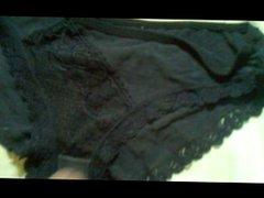 cum on vidz black panties  super 1