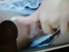 tribute on vidz webcam brunette  super in blue panties