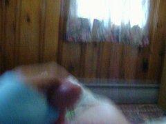 Asuka Funn vidz wakes up  super horny...AGAIN! huge cum shot