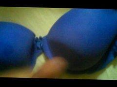 cum on vidz blue bra