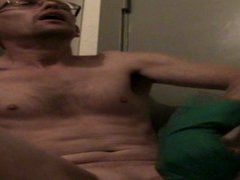 WANKING MY vidz COCK AND  super BIG ORGASME