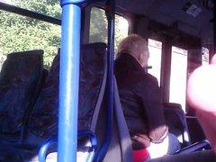 jerking for vidz blonde mature  super woman on bus