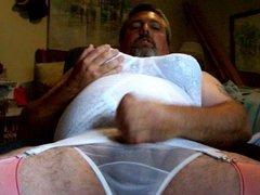 jacking in vidz lingerie !!