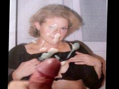 Cum Tribute vidz Lidie french  super mature wife