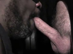 Black sucks vidz off hard  super white dick