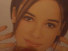 Tribute on vidz Alizee's pretty  super face