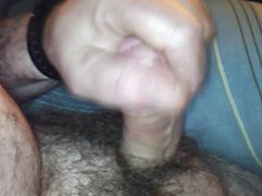 Playing with vidz my cock  super in my truck for my female friend
