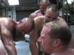 Warehouse Orgy vidz Fist and  super Fuck