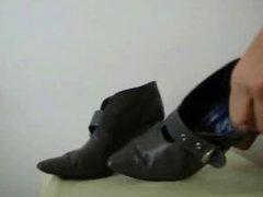 Cum on vidz Friend grey  super boots