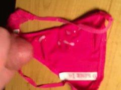 Huge Load vidz on Leahs  super panties!