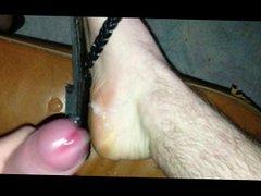cum on vidz my feet