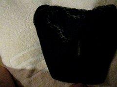 cumming again vidz in step  super daughter's black panty