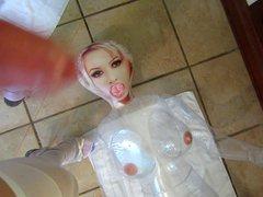 cum on vidz crystal clear  super doll