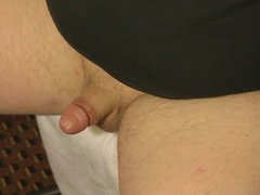 Small 3 vidz inch dick  super masturbation and cumshot