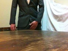 cumshot in vidz suit