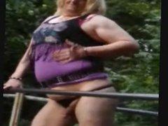 Slut Donna vidz Marie Outdoors  super Fun