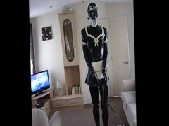 Another Day vidz With A  super Sissy Rubber Maid