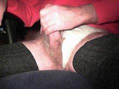 Hard Cock vidz in a  super Thong
