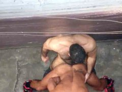 Muscle Hunks vidz Fuck in  super Alley