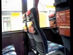 Public bus vidz wanking