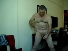 Wanking with vidz a Toy