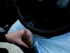 Me wanking vidz and cumming  super in my car