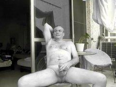 A Neighbour vidz watches me  super wank naked