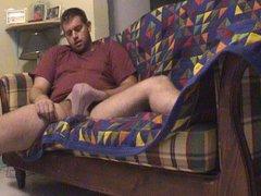 my husband vidz with tanga  super wanking for me on sofa malta