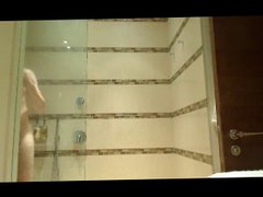 Bathroom with vidz hard on