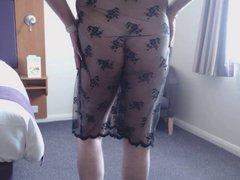 crossdresser lacy vidz dress 1