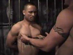 White top vidz master using  super his black bottom slave - Part II