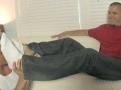 Foot Freak vidz Roomies JESSIE  super COLTER + LANCE HART + NITO