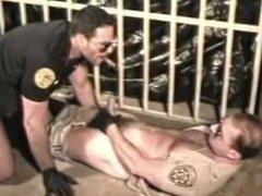 Cop sucking vidz cock of  super Sergeant